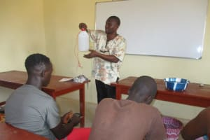 The Water Project: Lungi, International High School For Science & Technology -  Tippy Tap Handwashing Lesson