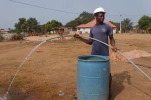 The Water Project: Lungi, International High School For Science & Technology -  Yield Test