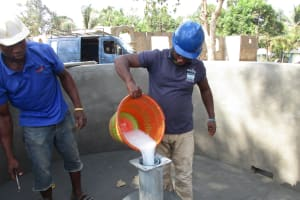 The Water Project: Lungi, Kamen, #22 Mission Road -  Chlorination