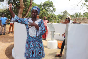 The Water Project: Lungi, Kamen, #22 Mission Road -  Section Chief Ya Almammy Nbonghor Sesay