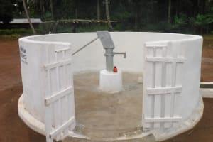 The Water Project: Lokomasama, Gbonkogbonko Village -  Finished Project