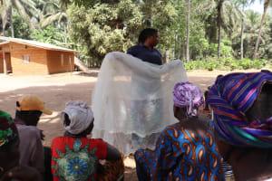 The Water Project: Lokomasama, Gbonkogbonko Village -  Hygiene Facilitator Teaching About Malaria