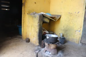 The Water Project: Lungi, Tintafor, Police Barracks E-Line Block 7 -  Inside Kitchen