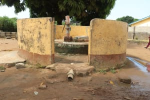 The Water Project: Lungi, Tintafor, Sierra Leone Church Primary School -  Alternate Water Source