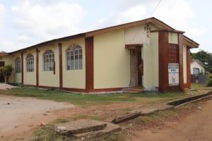 The Water Project: Lungi, Tintafor, Sierra Leone Church Primary School -  Community Church