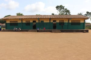 The Water Project: Lungi, Tintafor, Sierra Leone Church Primary School -  School Building