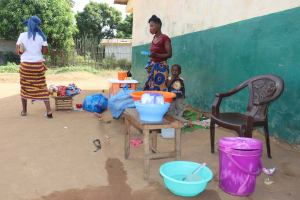The Water Project: Lungi, Tintafor, Sierra Leone Church Primary School -  School Market Place