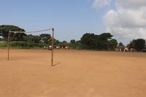 The Water Project: Lungi, Tintafor, Sierra Leone Church Primary School -  School Field