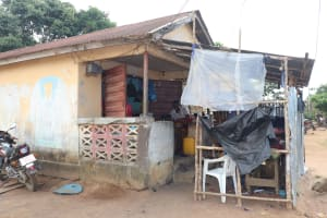 The Water Project: Lungi, Tintafor, Sierra Leone Church Primary School -  Tailoring Shop