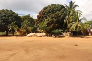 The Water Project: Lungi, Masoila, Off Swarray Deen Street (BAH) -  Community Landscape