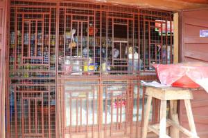 The Water Project: Lungi, Masoila, Off Swarray Deen Street (BAH) -  Community Petty Trading Shop