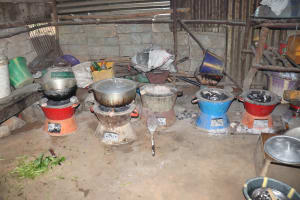 The Water Project: Lungi, Masoila, Off Swarray Deen Street (BAH) -  Inside Kitchen