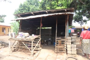 The Water Project: Lungi, Masoila, Off Swarray Deen Street (BAH) -  Kitchen