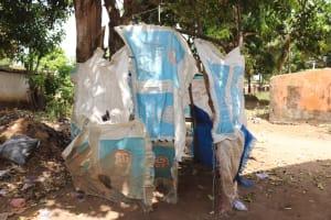 The Water Project: Lungi, Masoila, Off Swarray Deen Street (BAH) -  Bath Shelter