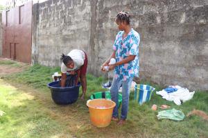 The Water Project: Lungi, Masoila, Off Swarray Deen Street (BAH) -  Women Laundering