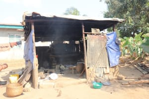 The Water Project: Lungi, Rotifunk, Paramount Chief's Compound -  Kitchen