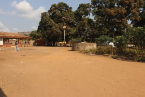 The Water Project: Lungi, Rotifunk, Paramount Chief's Compound -  Landscape