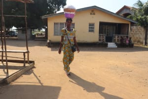 The Water Project: Lungi, Rotifunk, Paramount Chief's Compound -  Young Woman Selling