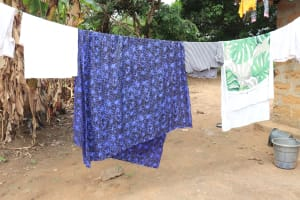 The Water Project: Kankalay Primary and Secondary School -  Clothesline In Community