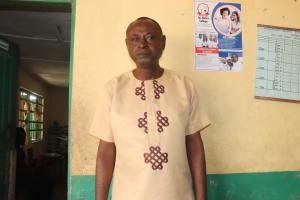 The Water Project: Kankalay Primary and Secondary School -  Principal Mr James Hindolo Kamanda