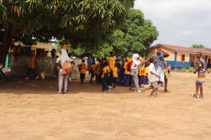 The Water Project: Kankalay Primary and Secondary School -  Students On Break