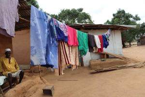 The Water Project: Kamasondo, Masome Village -  Clothesline