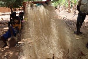 The Water Project: Kamasondo, Masome Village -  Fishing Net