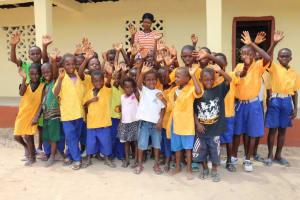 The Water Project: Kamasondo, Masome Village -  Head Teacher And Pupils