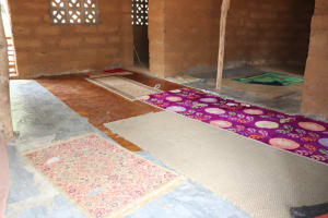 The Water Project: Kamasondo, Masome Village -  Inside Mosque Building