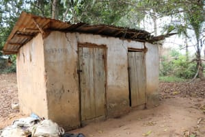 The Water Project: Kamasondo, Masome Village -  Latrine