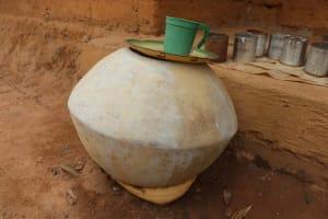 The Water Project: Kamasondo, Masome Village -  Mosque Water Storage
