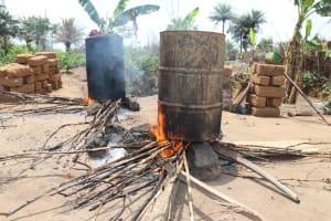The Water Project: Kamasondo, Masome Village -  Palm Oil Processing
