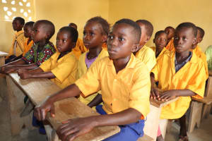 The Water Project: Kamasondo, Masome Village -  Focused On The Lesson