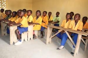 The Water Project: Kamasondo, Masome Village -  Pupils In Class