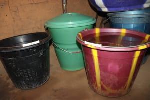The Water Project: Kamasondo, Masome Village -  Water Storage