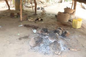 The Water Project: Lokomasama, Bompa Morie Village -  Inside Kitchen