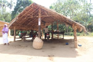 The Water Project: Lokomasama, Bompa Morie Village -  Motor Bike Garage