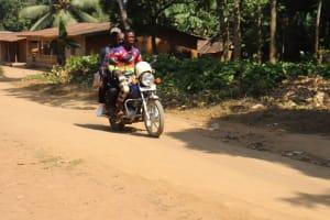 The Water Project: Lokomasama, Bompa Morie Village -  Motorbike Transportation