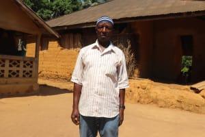 The Water Project: Lokomasama, Bompa Morie Village -  Village Headman Mamound Sesay