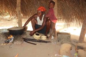 The Water Project: Lokomasama, Bompa Morie Village -  Woman Cooking