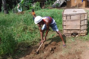 The Water Project: Lokomasama, Gbonkogbonko Village -  Ground Breaking