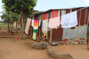 The Water Project: Lungi, Tintafor, Police Barracks E-Line Block 7 -  Clothesline