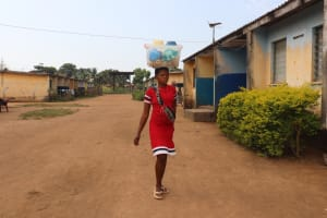 The Water Project: Lungi, Tintafor, Police Barracks E-Line Block 7 -  Girl Selling Food