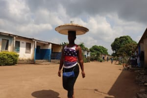 The Water Project: Lungi, Tintafor, Police Barracks E-Line Block 7 -  Girl Selling Groundnuts