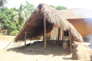 The Water Project: Lokomasama, Bompa Morie Village -  Kitchen