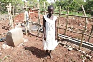 The Water Project: Kinuma Kyarugude Community -  Flavia K