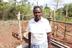 The Water Project: Kinuma Kyarugude Community -  Harriet Birungi
