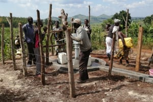 The Water Project: Kaitabahuma I Community -  Dancing And Singing At The Well Dedication