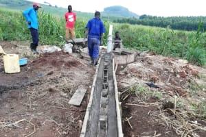 The Water Project: Kaitabahuma I Community -  Drainage Channel