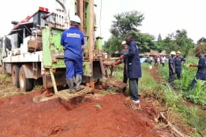 The Water Project: Kaitabahuma I Community -  Drilling